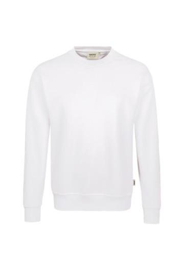 Sweatshirt, comfort, Mischgewebe weiß