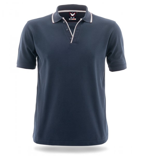 Poloshirt Night Hawk marine