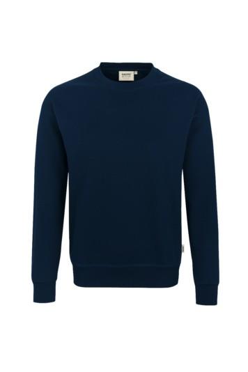 Sweatshirt, comfort, Mischgewebe marine
