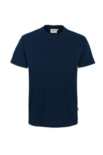 T-Shirt, comfort, Mischgewebe marine