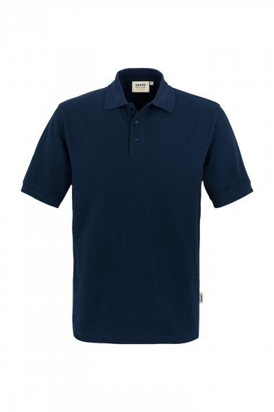 Poloshirt, classic, Mischgewebe marine