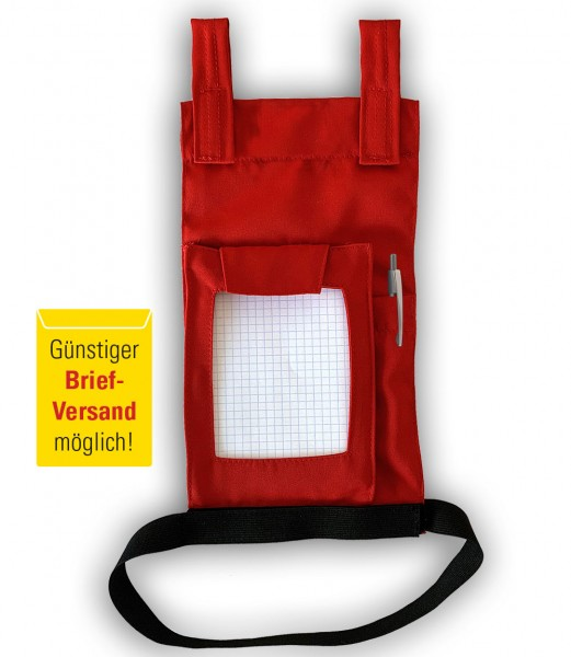 Blocktasche für Hose SIS rot