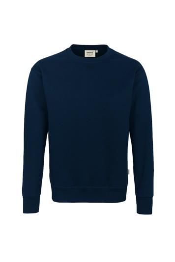 Sweatshirt, premium, Mischgewebe marine