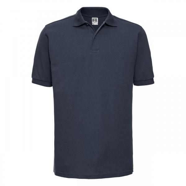 Poloshirt, Mischgewebe marine