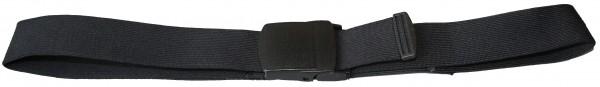 elast. Gürtel, schwarz, 130 cm