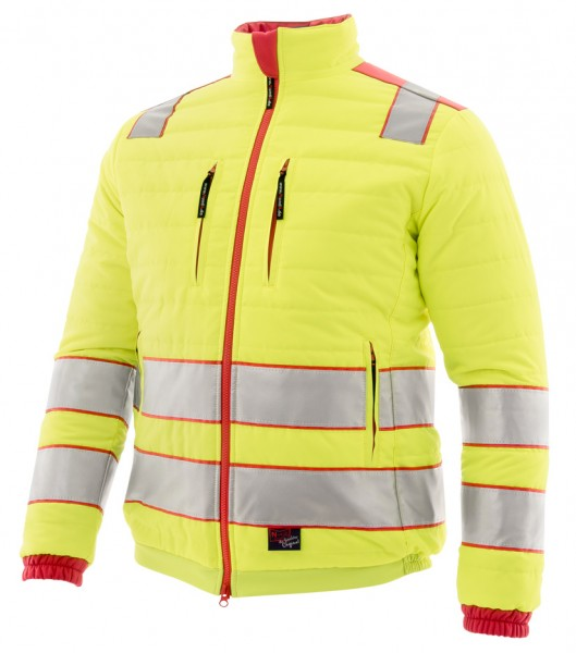 Warnschutz Steppjacke Night Hawk, leucht